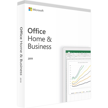 MS Office 2019 Home &  Business DK - PC eller Mac - ESD licens - Download