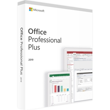 MS Office 2019 Professional DK - PC eller Mac - ESD licens - Download