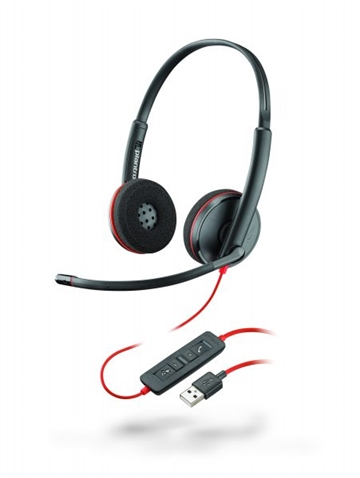 Headset Plantronics Blackwire 3220 USB-A Duo headset